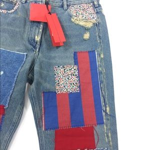 Tommy Hilfiger Jeans - NEW Tommy Hilfiger Collection Patchwork Jeans Sz 8
